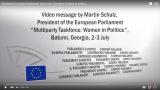 President European Parliament welcomes Georgian women in politics