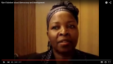 Njeri Kabeberi about democracy and development