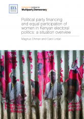 Political party financing in Kenya NEW