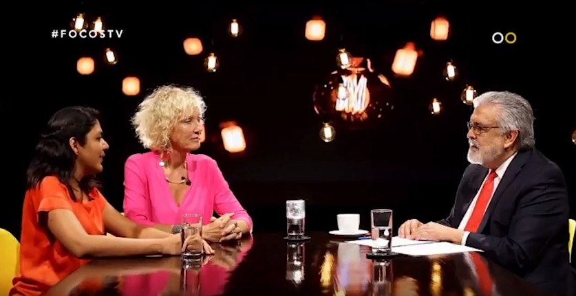 Simone Filipini and Gracia Grande speak to FOCOS TV